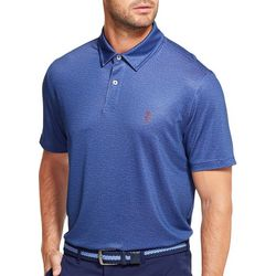 IZOD Golf Mens Space Dyed Polo Shirt
