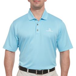 Pebble Beach Mens Oval Texture Polo Shirt