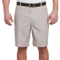 Pebble Beach Mens Doby Solid Shorts
