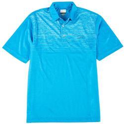 Ombre Space Dye Polo Shirt