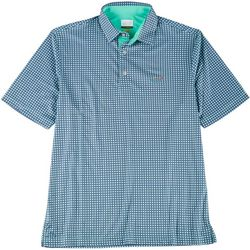 Greg Norman Collection Mens Medallion Polo Shirt