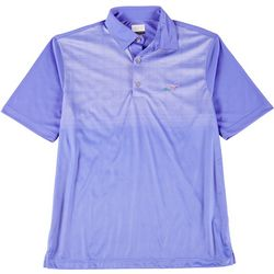 Greg Norman Collection Tonal Print Polo Shirt
