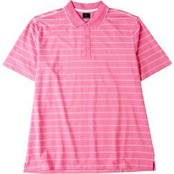 Greg Norman Collection Mens ML75 Striped Polo Shirt