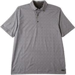 Mens Paisley Polo Shirt