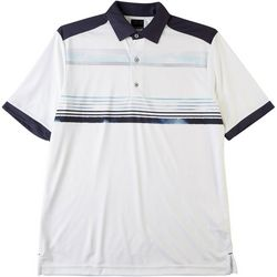 Greg Norman Collection Mens ML75 Chest Stripe Polo Shirt