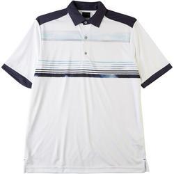 Mens ML75 Chest Stripe Polo Shirt