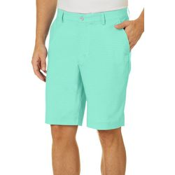 Greg Norman Golf Mens Performance Flat Front Shorts