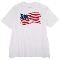 Greg Norman Collection Mens Distressed Flag T-Shirt
