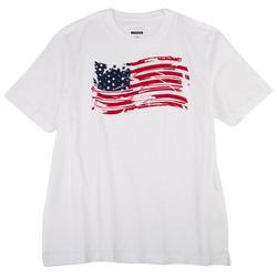 Mens Distressed Flag T-Shirt