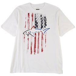 Greg Norman Collection Mens Shark Flag T-Shirt