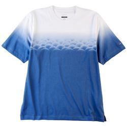 Mens Ombre Golf Ball T-Shirt