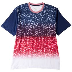 Greg Norman Collection Mens Ombre Americana Stars T-Shirt