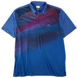 Greg Norman Mens Gradiant Diagonal Stripe Polo Shirt