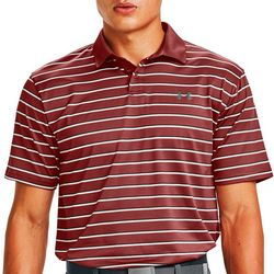 Under Armour Mens HeatGear Striped Polo Shirt