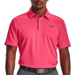 Under Armour Mens Core UA Tech Golf Polo Shirt