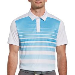 Mens Ombre Heritage Stripe Polo Shirt