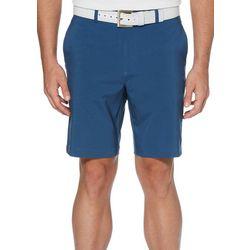 Mens Herringbone Flat Front Golf Shorts