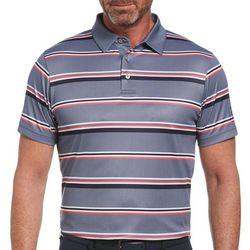 PGA TOUR Mens Horizontal Stripe Polo Shirt