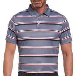 Mens Horizontal Stripe Polo Shirt