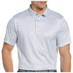 PGA TOUR Mens Spotted Print Polo Shirt