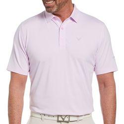 Callaway Mens Short Sleeve Stripe Pro Spin Polo