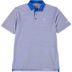 Callaway Mens Stripe Pro Polo Shirt