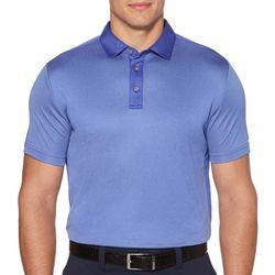 PGA TOUR Mens Stripe Short Sleeve Color Block