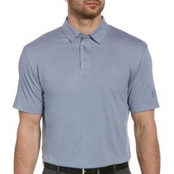PGA TOUR Mens Mini Horizon Short Sleeve Polo Shirt