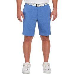 PGA TOUR Mens Heathered Active Waistband Shorts