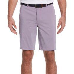 PGA TOUR Mens Mini Plaid  Print Shorts