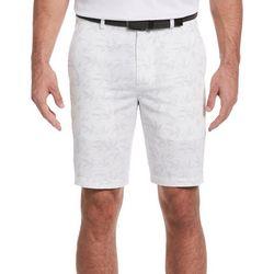 PGA TOUR Mens Textured Bamboo Print Shorts