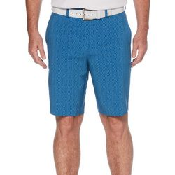 PGA TOUR Mens Micro Geometric Print Shorts
