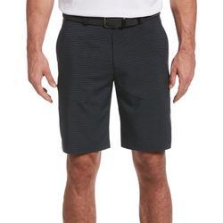 Mens Heathered Pinstripe Shorts