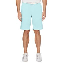 PGA TOUR Mens Heathered Active Waistband Golf Shorts