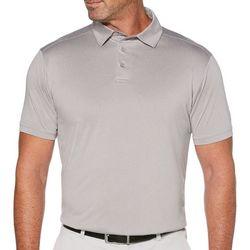 Mens Fine Line Short Sleeve Polo Shirt