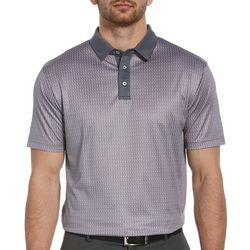 PGA TOUR Mens Mini Club Print Polo Shirt