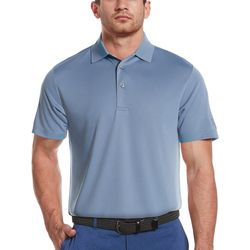 PGA TOUR Mens Short Sleeve Solid Polo Shirt