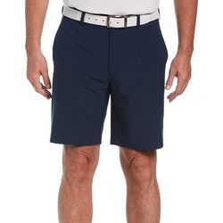 PGA TOUR Mens ECO Flat Front Dobby Active