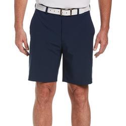 Mens ECO Flat Front Dobby Active Waist Golf Shorts