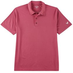 Golf America Mens Dotted Performance Polo Shirt