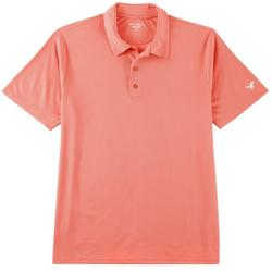 Mens Dotted Performance Polo Shirt