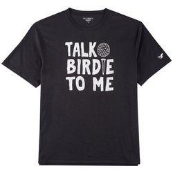 Golf America Mens Talk Birdie To Me T-Shirt