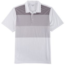 Golf America Mens Ombre Honeycomb Performance Polo Shirt