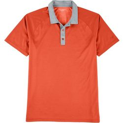 Golf America Mens Dualside Dotted Print Polo Shirt