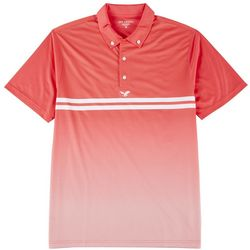 Golf America Mens Graphic Performance Polo Shirt