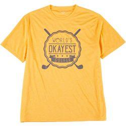 Golf America Mens Worlds Okayest Golfer T-Shirt