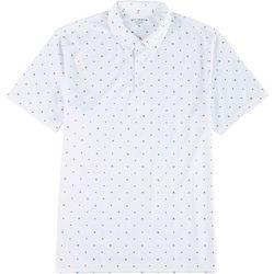 Golf America Mens Moon & Stars Polo Shirt