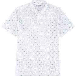 Mens Moon & Stars Polo Shirt