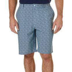 Mens Static Print Golf Shorts