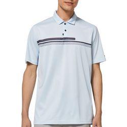 Oakley Mens Gravity Bicolor Stripes Polo Shirt